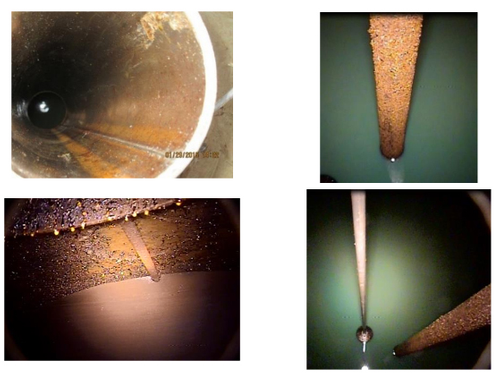 Examples of internal corrosion