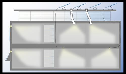Glint Photonics plan rendering