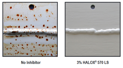 Halox rust test