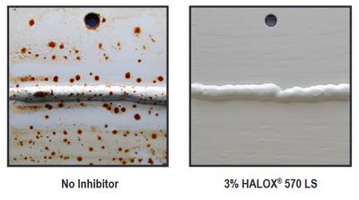 Halox rust test