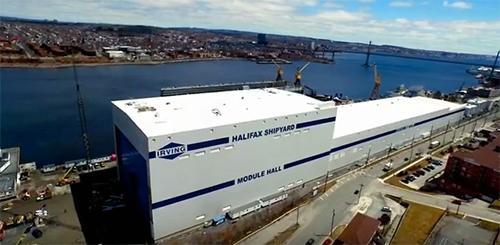 Irving Halifax Shipyard