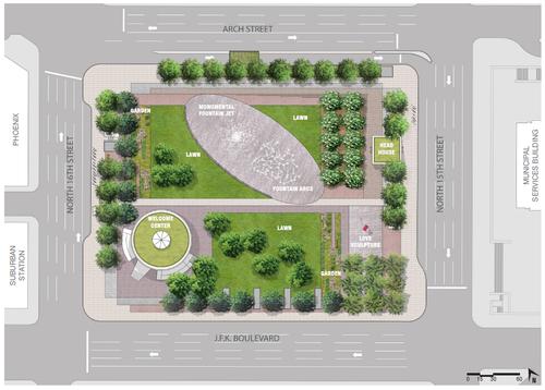 LOVE Park rendering