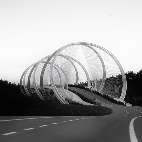 Rings of San Shan Bridge