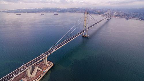 Osman Gazi Bridge, Turkey