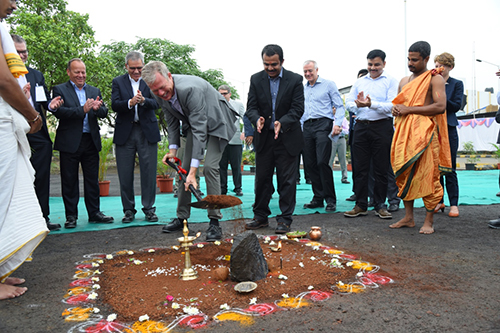 AkzoNobel Mumbai groundbreaking