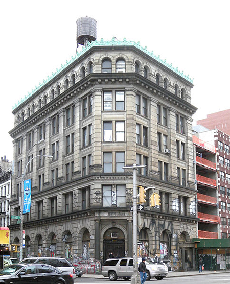 190 Bowery before renovation