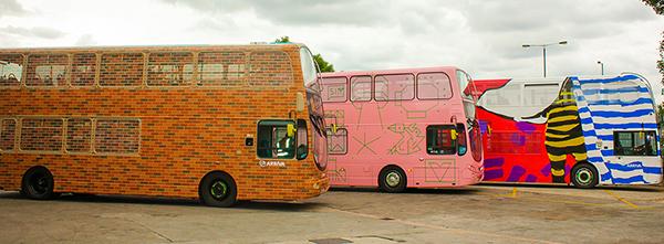 HMG Paints, Arriva buses