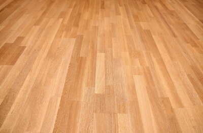 Coated hardwood flooring