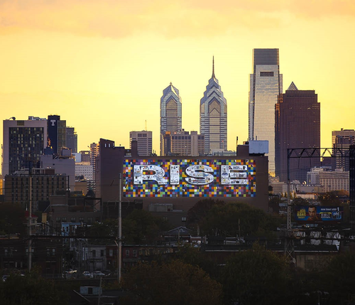Part of Philadelphia's Porch Light Mural Arts Program