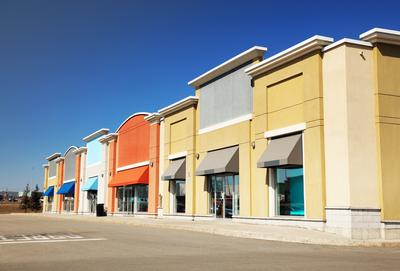 Retail buildings