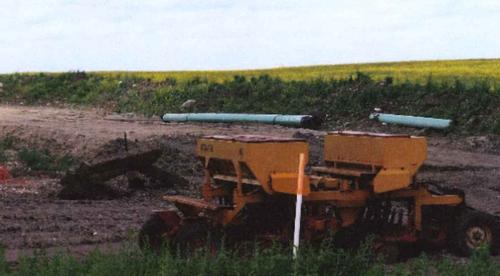 Sacagawea pipeline jobsite