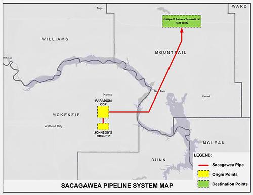 Scagawea pipeline map