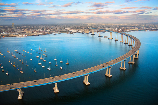 San Diego bridge