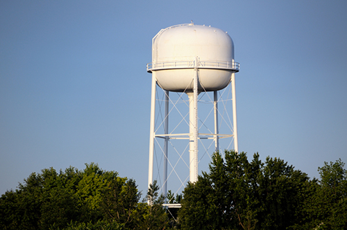 white water tower
