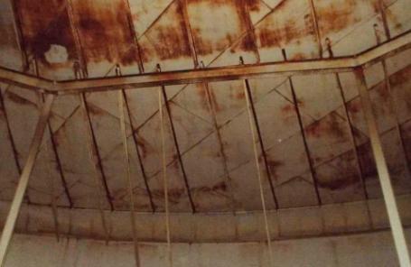 water tank interior