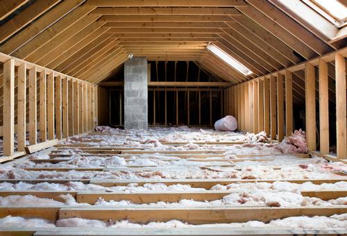 Insulation in attic room