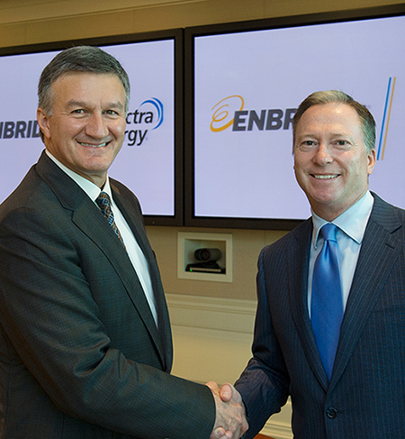 Enbridge Spectra Energy merger