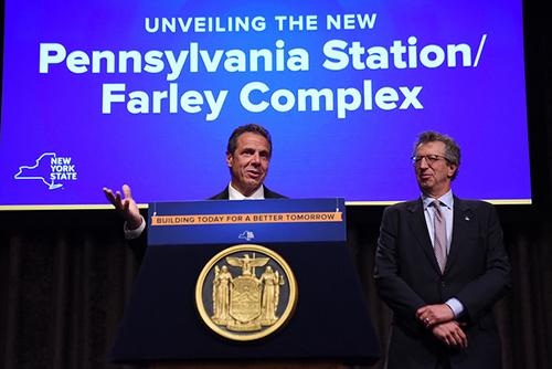 Gov. Cuomo announces Penn Station revamp