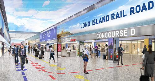 LIRR Concourse rendering