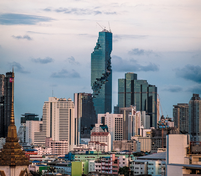 MahaNakhon under construction