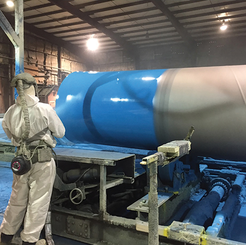 RPM pipe coating