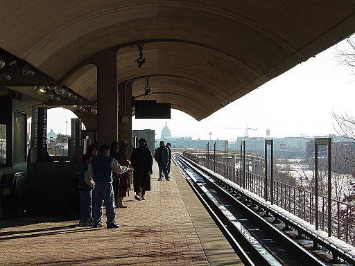 WMATA Rhode Island Avenue Station