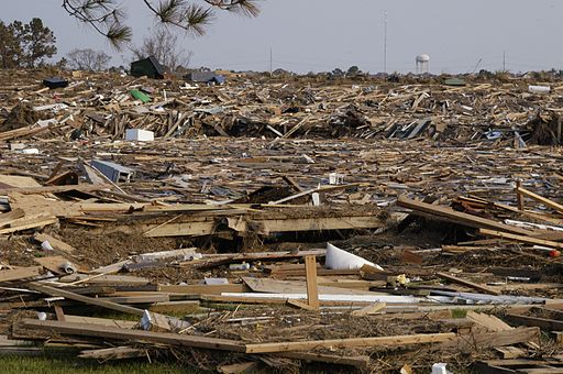 Slidell, LA after Hurricane Katrina
