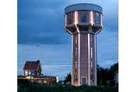 Water Tower Gets Townhouse Touch