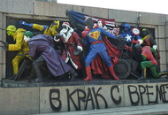 Graffiti Strikes a Russian Nerve