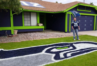 Super Fan's Super House Gets its Day