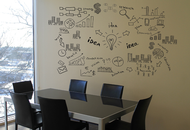 Paint Makes Wall Surface Writable