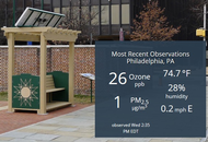 A Bench that Benchmarks Air Quality