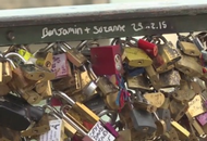 Paris Bridges Divorce Love Locks