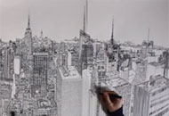 A Colossus of a Drawing Comes to Life