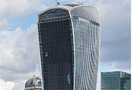 London Building Faces Wind, Design Woes
