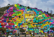 Artists, Town Target Blight with Color