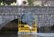 Safety Precautions Fail on Irish Bridge