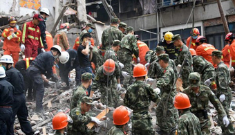 17 Killed in China Building Collapse
