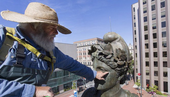 Portland Statue Restored, Protected