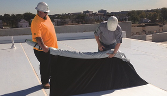 Roof Offers Peel-Away Protection