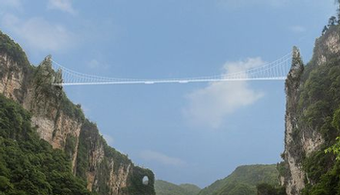 Longest Glass Bridge Opens