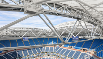 US Open Rolls Out Retractable Roof
