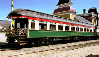 Paint Job Reflects Area's Rail History