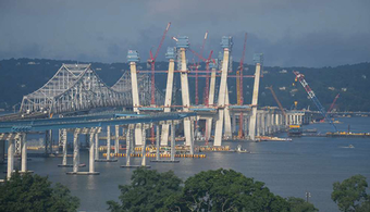Footage Captures Tappan Zee Progress