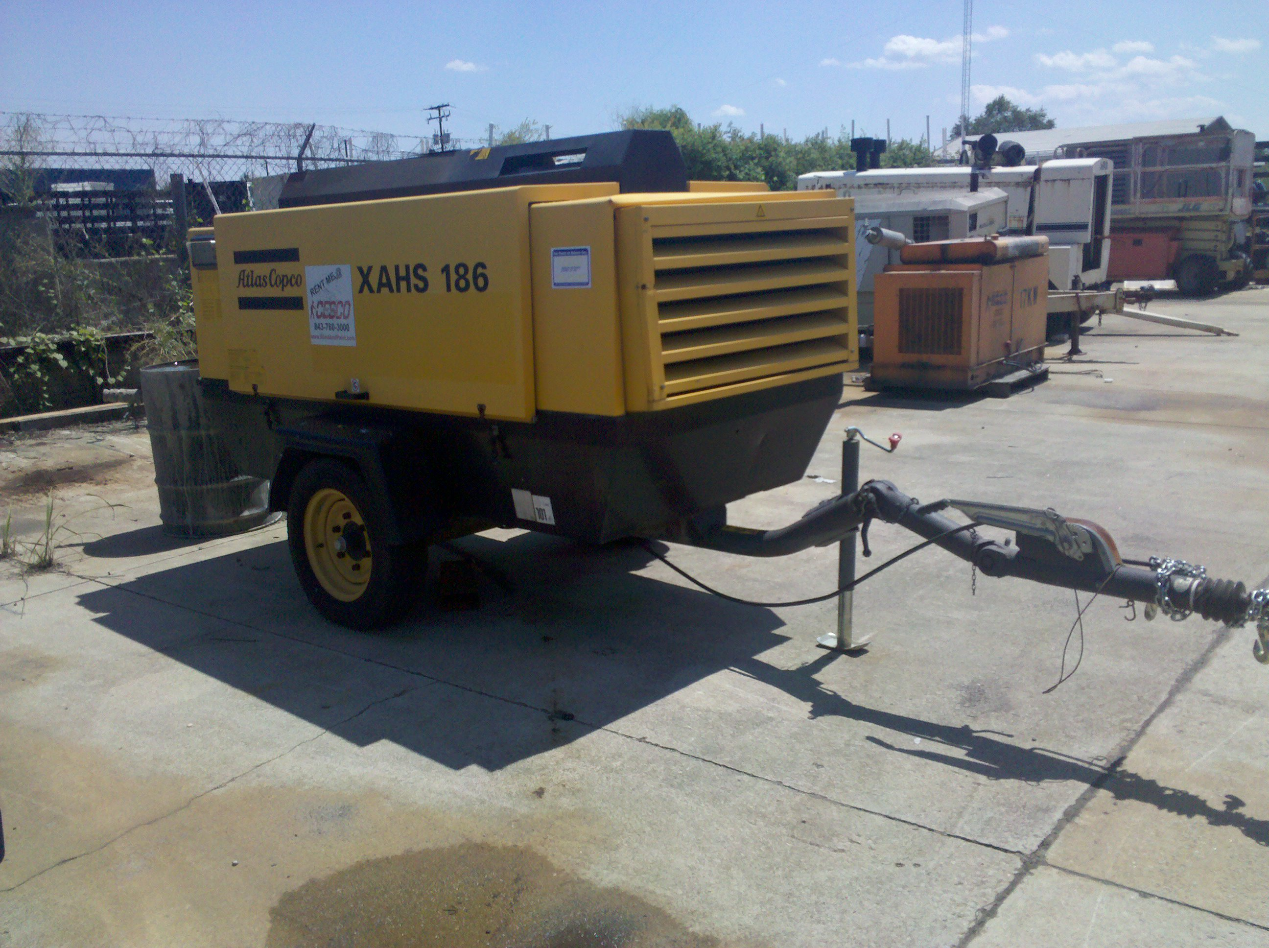 Paint and Coatings Equipment for Sale or Rent : ATLAS COPCO 375CM