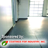 D+D Education Series Webinar: Resinous Floor Coatings: Specifications and Use; Sponsored by Coatings for Industry, Inc.