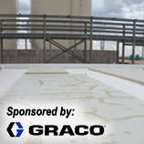 Polyurea Application for Excessively Cracked Concrete Sponsored by Graco