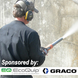 Surface Preparation of Concrete; Sponsored by EcoQuip and Graco