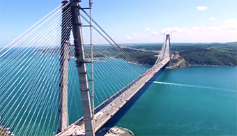 Video: Robotic Shot-Blaster Speeds Cleaning on Turkish Bridge Projects