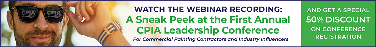 CPIA, The Commercial Painting Industry Association